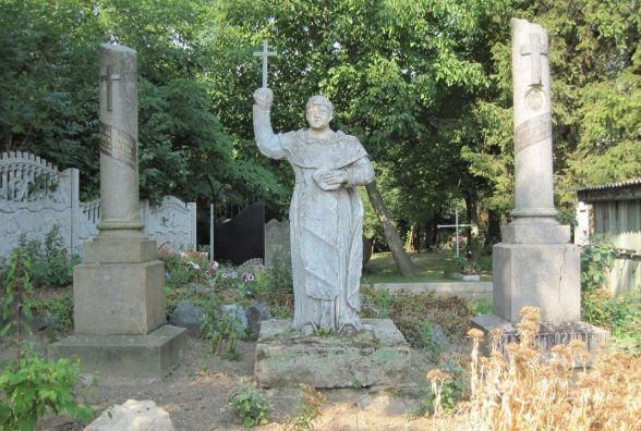 «Незнана Хмельниччина»: католицький цвинтар і палац останніх власників Деражні