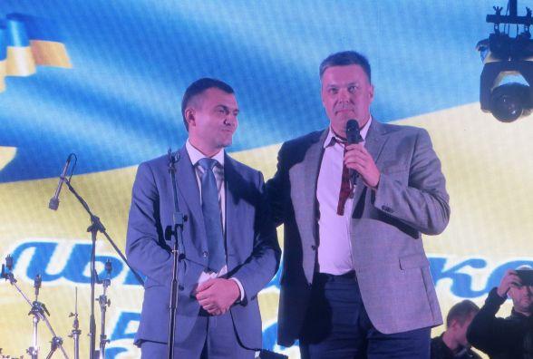Олександр Симчишин прокоментував виступ Тягнибока на Дні міста