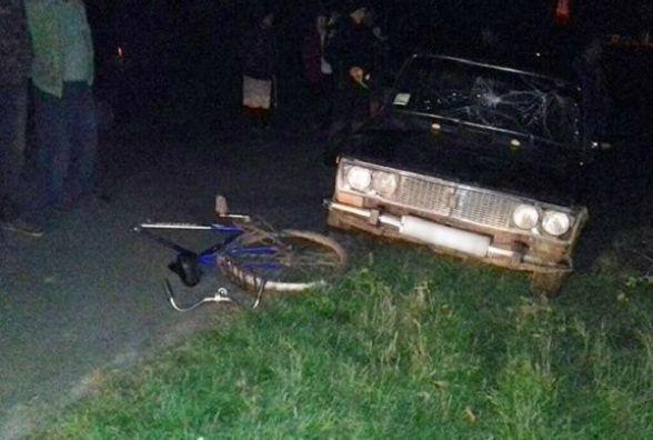На Теофіпольщині п'яний водій збив велосипедистку