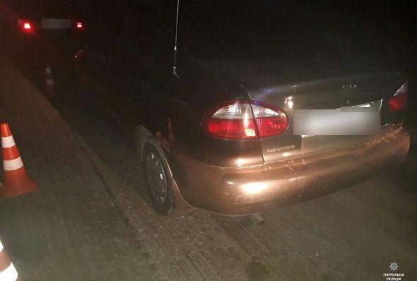 У Хмельницькому розшукують водія, який втік з місця дорожньо-транспортної пригоди
