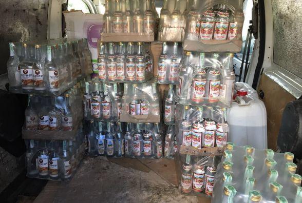 У Шепетівському районі виявили підпільний цех з алкоголем