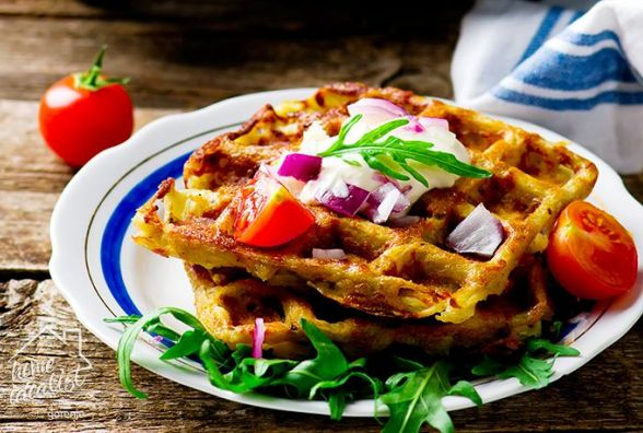 Смачний і швидкий сніданок: як приготувати вафлі хешбраун