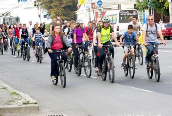 Велосипедистів запрошують на закриття сезону у парк Чекмана