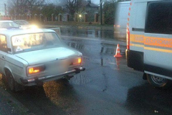 """На Вінницькому шосе """"ВАЗ"""" збив 20-річного пішохода"""