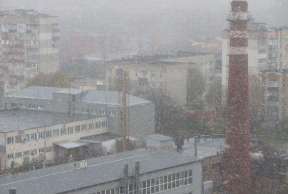 Сніг, дощ та шквальний вітер: погода у Хмельницькому на тиждень