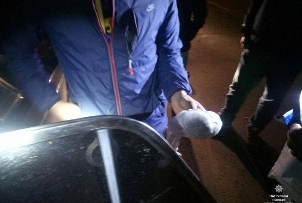 Вночі на проспекті Миру за п'яне водіння оформили водія ВАЗу