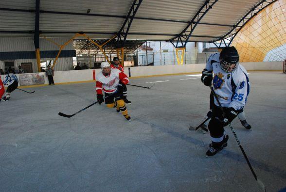 """Перша гра нового хокейного сезону. """"Проскурів"""" поступився гостям з Вінниці"""