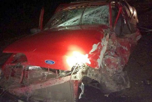 Нічна ДТП в Гречанах: п'ятеро постраждалих і п'яний за кермом