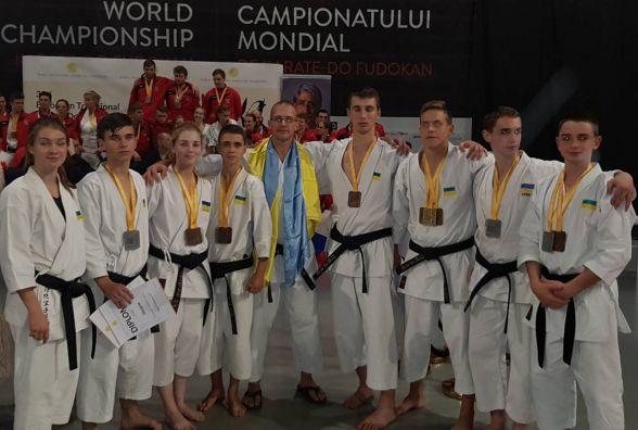 Хмельницькі каратисти здобули нагороди на чемпіонаті Європи