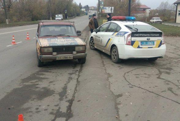 """Аварія на Кам'янецькій: """"ВАЗ"""" збив пенсіонерку"""