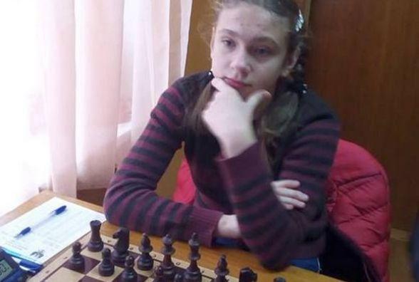 Хмельницькі таланти: 13-річна Євгенія Дзятко вийшла у фінал чемпіонату України з шахів