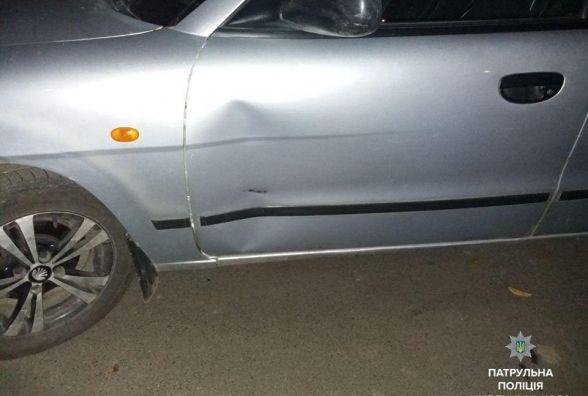 """На Коновальця водій """"ВАЗ"""" протаранив """"Daewoo"""" і втік: поліція шукає свідків"""