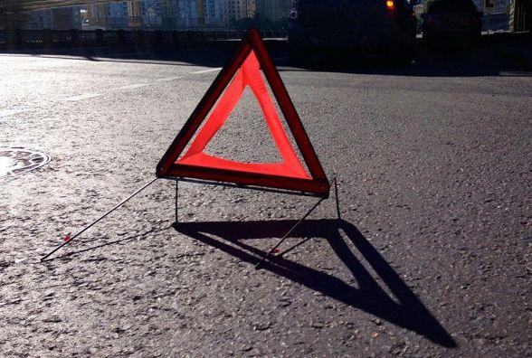 На Чорновола зіткнулися дві Audi. Травми отримали жінка і немовля