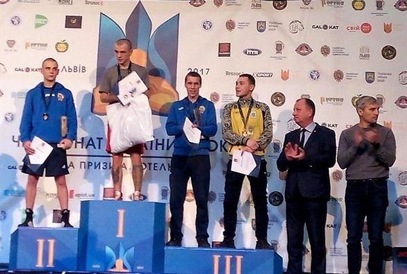 Хмельничани здобули перемогу на чемпіонаті України з боксу