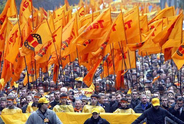 22 листопада в Україні почалась Помаранчева революція