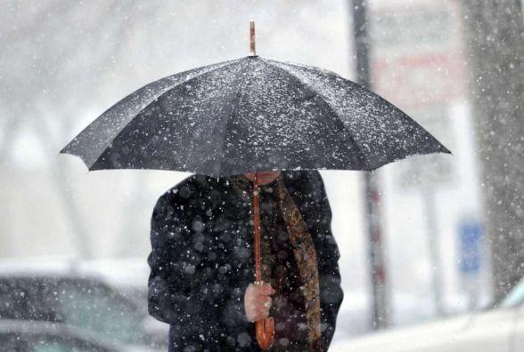 Дощ і сніг заполонять Хмельницький: погода в середу, 29 листопада
