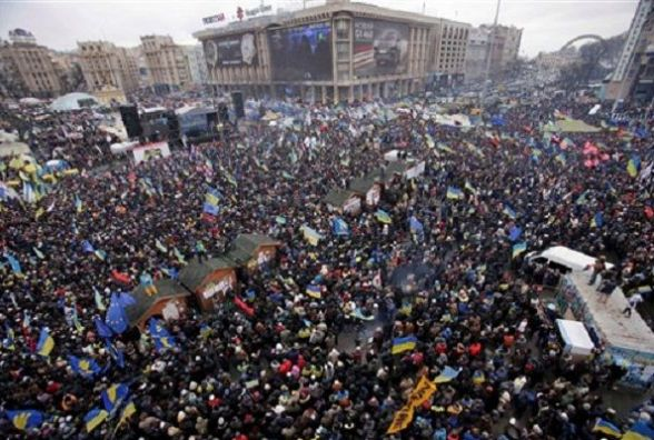 """Чотири роки тому 8 грудня в Україні пройшов """"Марш мільйона"""""""