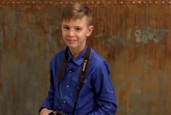 13-річний хмельничанин представив власну фотовиставку зі світлинами знаменитостей