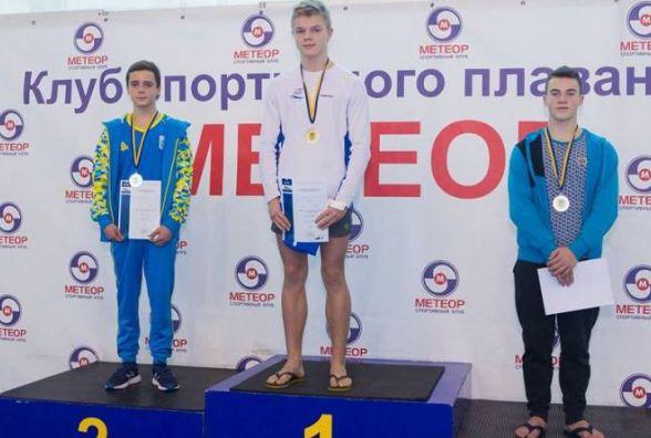 Хмельничанин став чемпіоном України з плавання