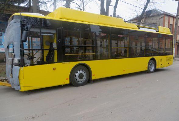 Нові тролейбуси вже у Хмельницькому: як виглядають і коли виїдуть на маршрути