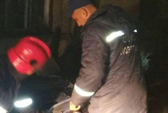 В Ізяславському районі спалахнув автомобіль