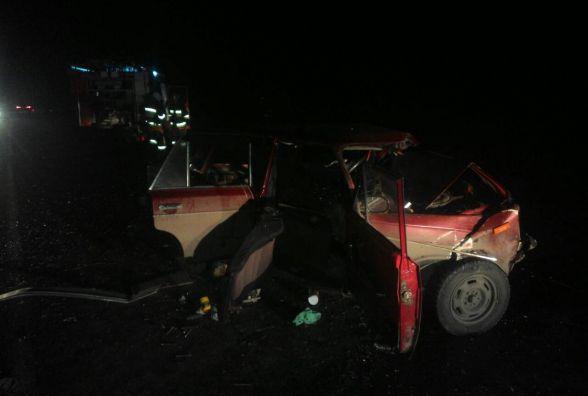 """У Красилівському районі """"ВАЗ"""" зіштовхнувся з""""Suzuki"""". Водій помер на місці (ОНОВЛЕНО)"""