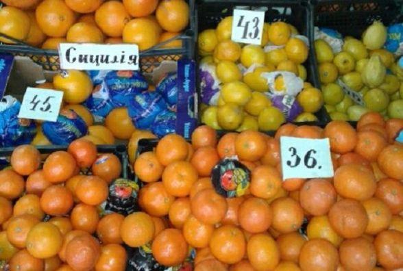 Після свят ціни на овочі та фрукти на ринках Хмельницького не падають