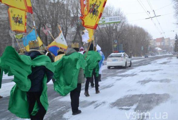 Вулицями Хмельницького пройде театралізована хода Трьох Царів