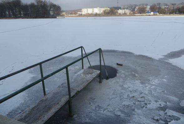 Визначили місця, де купатимуться хмельничани на Водохреще (ОНОВЛЕНО)