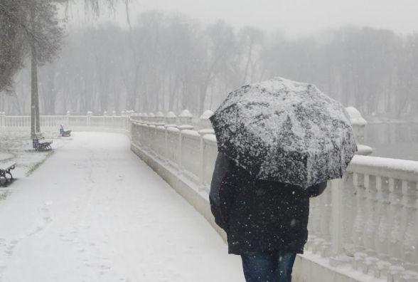 У середу, 17 січня, Хмельницький засипатиме снігом