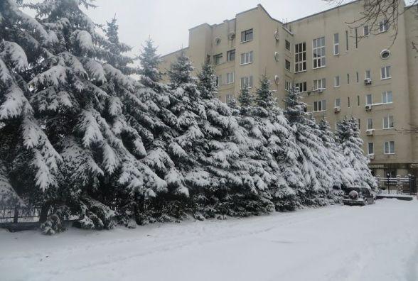 Сніг заполонить Хмельницький в п'ятницю, 9 лютого