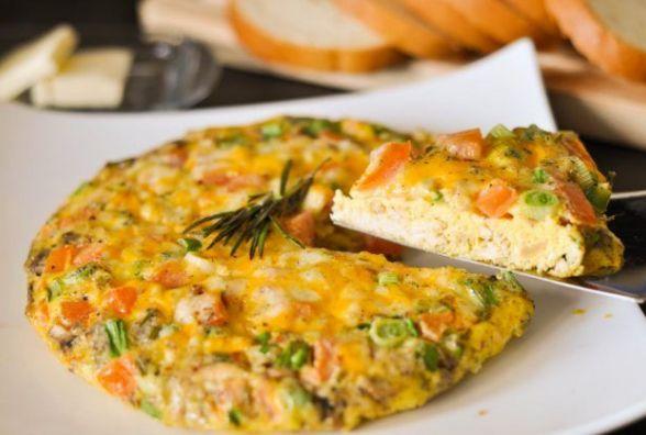 Смачний і швидкий сніданок: готуємо фріттату з грибами