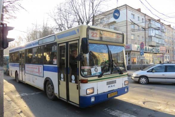 Автобус № 22 знову змінить маршрут руху