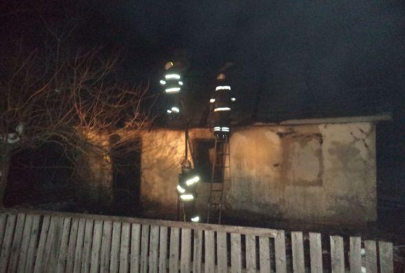 У Славутському районі чоловік згорів у власному будинку