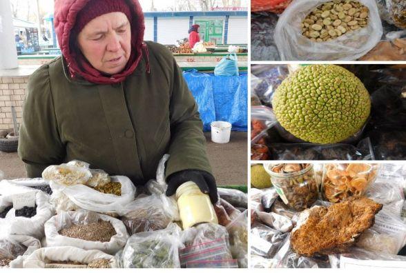 Адамове яблуко і березовий гриб: ТОП-10 товарів з овочевого ринку від бабусь