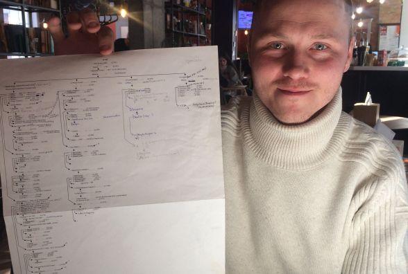 Хмельничанин Микола дослідив 30 гілок свого родоводу. Як йому це вдалося?