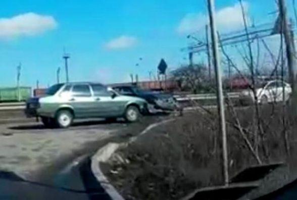 Після ДТП на Волочиській «швидка» забрала трьох постраждалих
