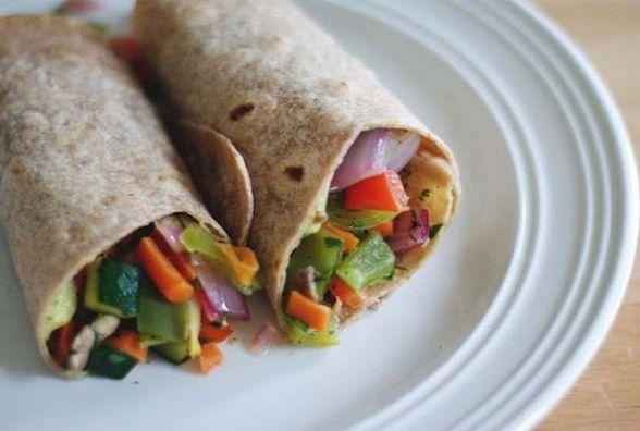 Пісний сніданок: готуємо овочеві роли