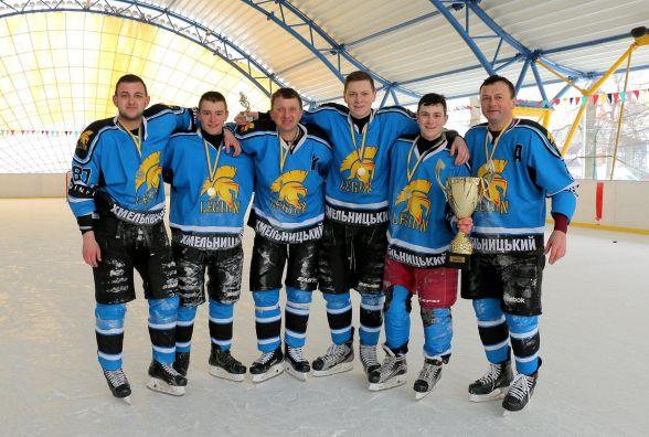 """""""Легіон"""" став найкращим у відкритому чемпіонаті Хмельницького з хокею"""