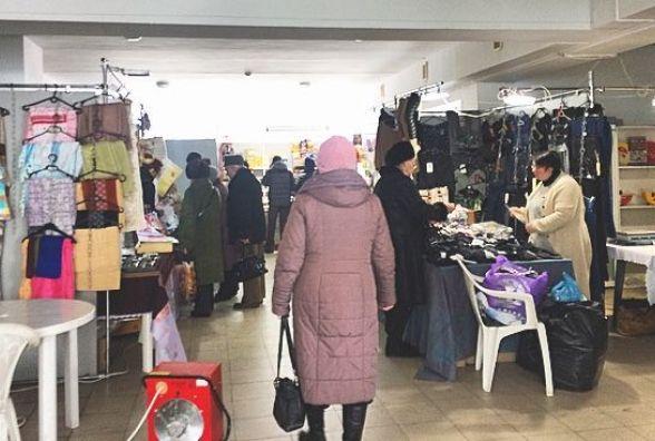 Їжа, техніка та одяг: у хмельницькій торгово-промисловій палаті відкрилася виставка-ярмарок