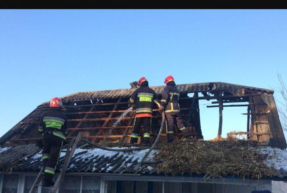 Вогняна пастка: під час пожежі на Віньковеччині врятували чоловіка