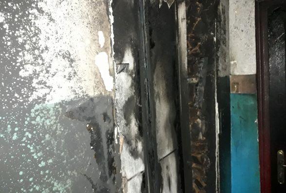 Посеред ночі у багатоповерхівці в мікрорайоні Гречани спалахнув ліфт