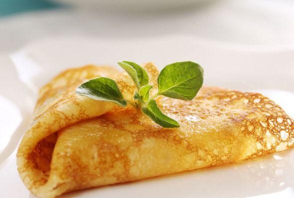 Пісний сніданок: готуємо млинці на мінеральній воді
