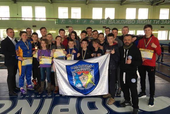 Хмельничани стали призерами чемпіонату України з кікбоксингу