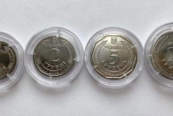 В кінці квітня в обіг вводять монети, які замінять паперові гривні. Як вони виглядатимуть