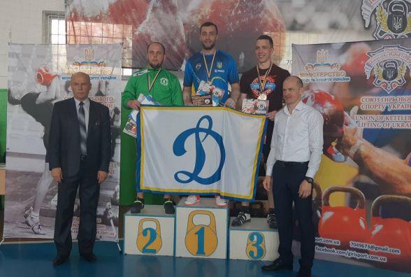 Хмельницький гирьовик встановив новий рекорд України