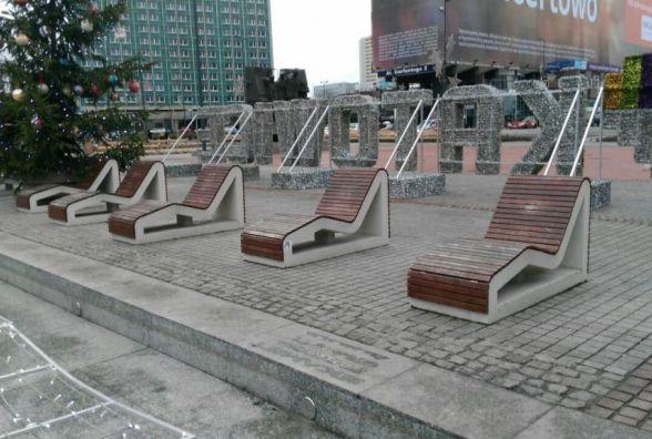 Встановити бетонні шезлонги на набережній Бугу пропонує хмельничанин Ігор