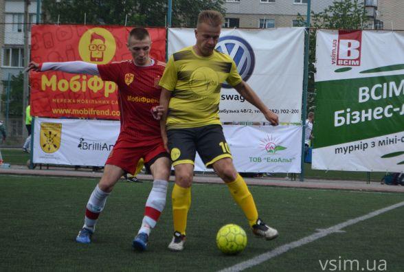 Турнір з міні-футболу ВСІМ Бізнес-ліга: визначалися перші учасники плей-офф