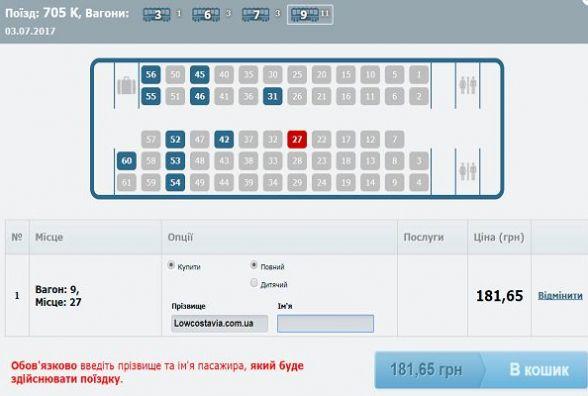 """""""Укрзалізниця"""" попередила про збої в роботі системи онлайн-продажу квитків"""