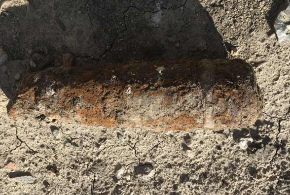 На одній із вулиць Хмельницького знайшли артилерійський снаряд